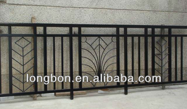 Top Selling Simple Designed Galvanized Balcony Railing View