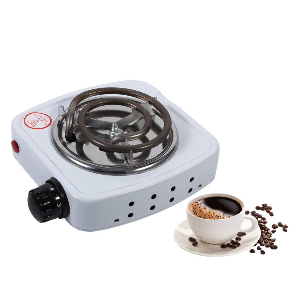 ERTIANANG Kitchen Stove Hot Plate Home Kitchen Cooker Coffee Heater Hotplate EU Plug Multifunction 220V 500W Burner Electric Stove