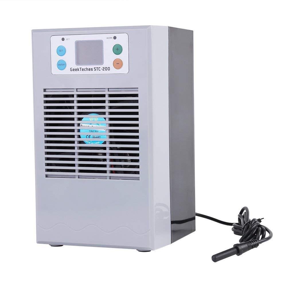Greensen Active Aquarium Chiller with Pump Kit, Fish Tank Water Cooling Heating Machine for Aquarium Aquaculture Uses