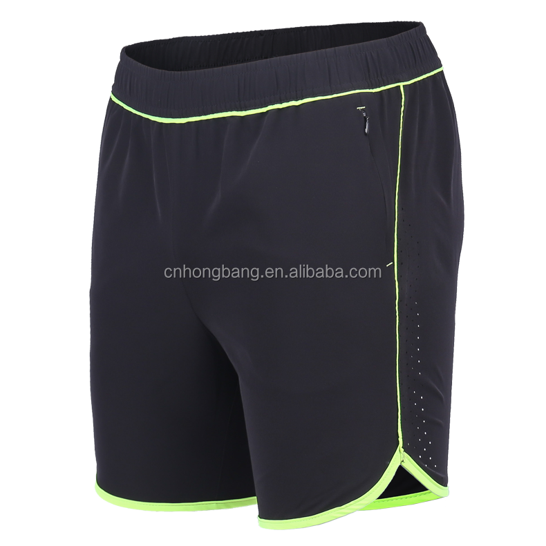 wholesale brand name polyester / spandex mens sports wear running shorts / track pants