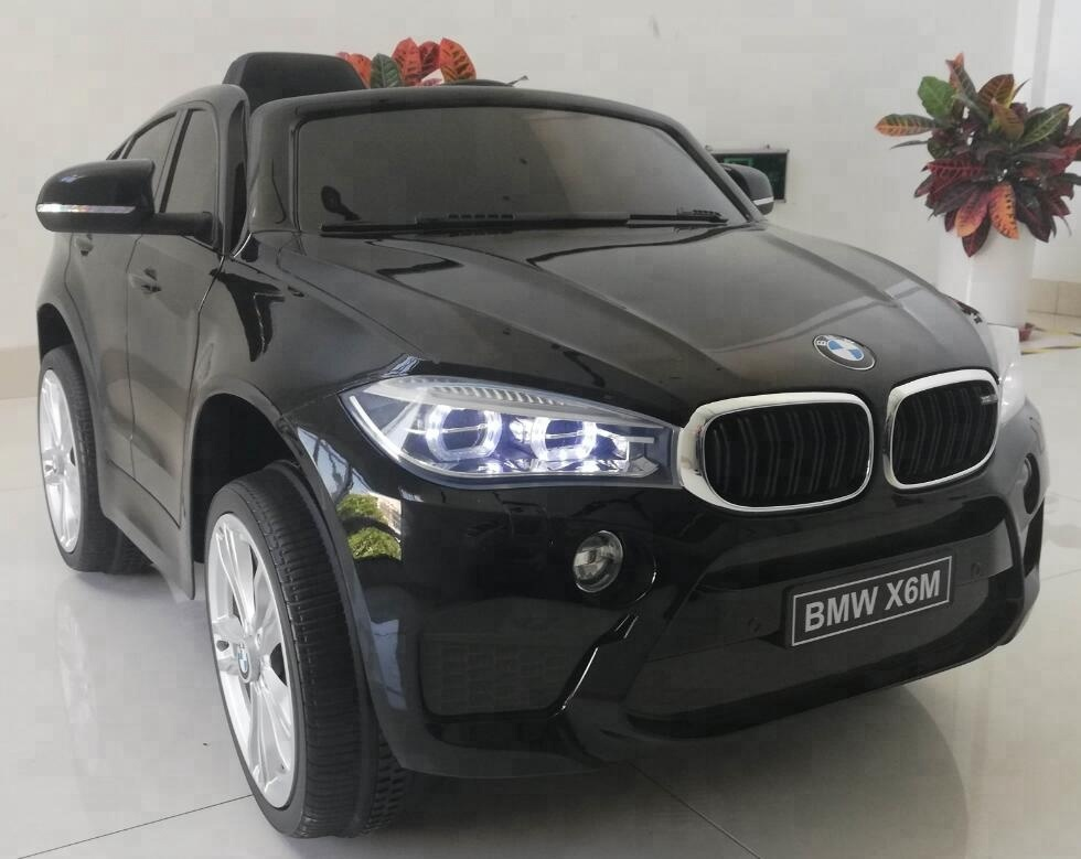 Licensed Bmw X6m Electric Kids Car Children S Car 12v 2 Motors Kids