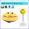 Cute Smiley Face Button Mini spy Camera DV Car DVR Motion Detection Video hidden Camera TV out DV Camcorder video recorder Cam
