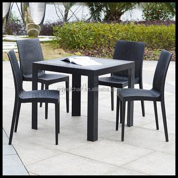 Mobili Da Giardino/plastica Tavoli E Sedie In Rattan - Buy Mobili Da ...