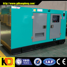 Electric governing system and water cooled 250KW 312.5KV silent diesel generator set with CUMMINS engine