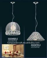 antique lamp shades/ decorative crystal pendant lamp/oil stove