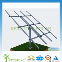 Easy Installation solar panel single pole mounting system