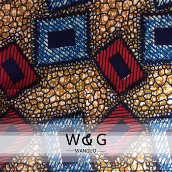 Various Fancy Patterns Fashion Color African Ankara Fabrics Bagwholesale Java Wax