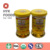 new shelves 80g glass cup bottle honey syrup hot sell