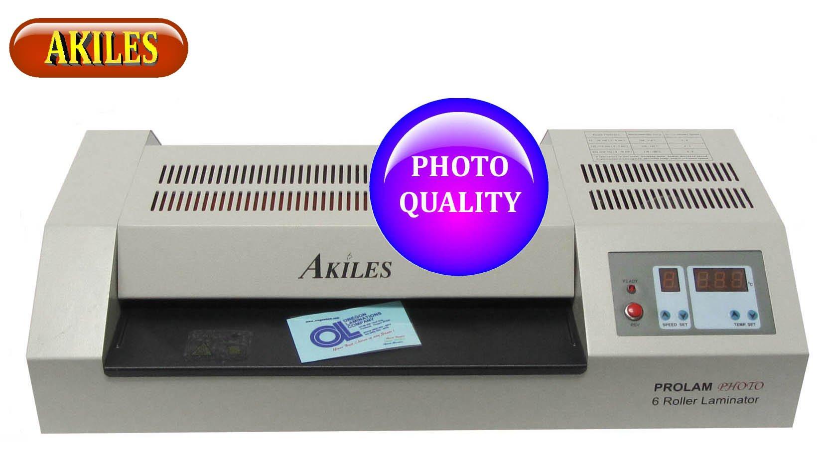 "Akiles ProLam Plus 13"" Heavy Duty Dual Heat Pouch Laminator"