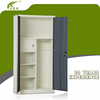Luoyang Factory Commercial Furniture 2 Door Steel File Clothes Storage Almirah Cabinet