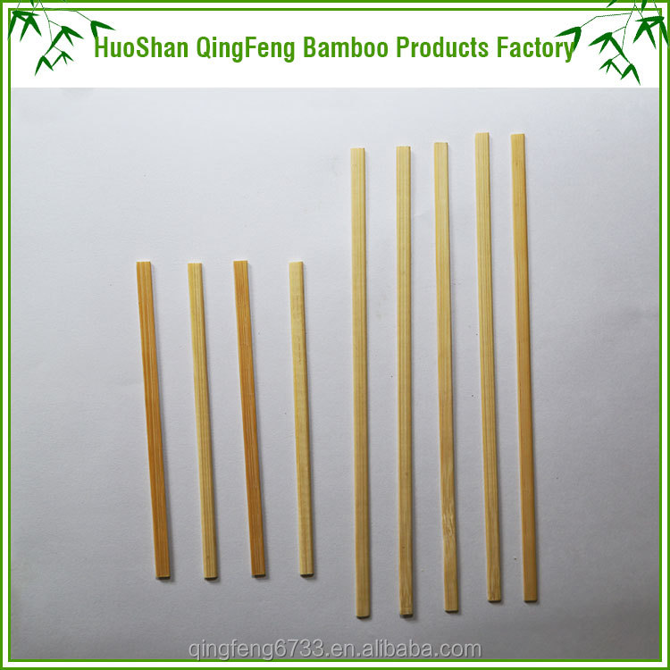 Most popular BBQ flat stick bamboo skewer with top quality