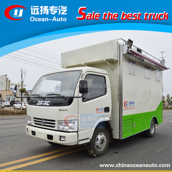 Hot Sale Right Hand Drive Snack Machines Mobile Kitchen Truck For ...