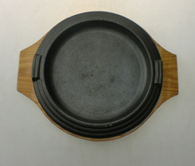 cast iron sizzling plate