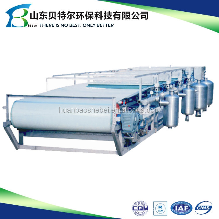 DU Vacuum belt filter for flue gas desulfurization gypsum treatment/dewatering plant with ISO9001