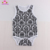 Fashion Baby Rompers Newborn Infant Baby Girl Sleeveless Summer damask Romper Babygrow Jumpsuit