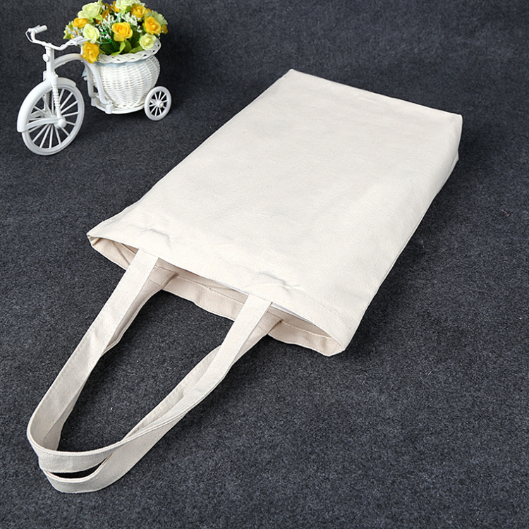 Stocked fashion thick cotton foldable shopping bag with <strong>tote</strong>