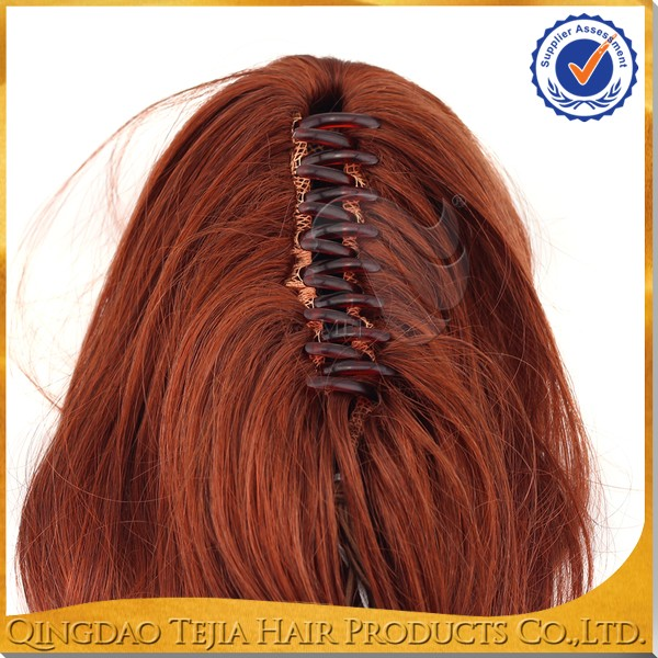 Wholesale quality products sexy red color black women claw clip wholesale quality products sexy red color black women claw clip fake hair ponytails pmusecretfo Choice Image
