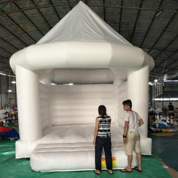 Wedding white bouncing castle/white bounce house/adult bounce house