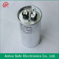 Anhui air conditioner ac motor running cbb65 air compressor capacitor