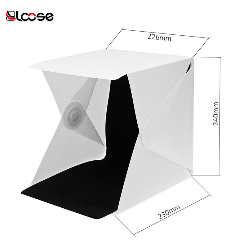 New product Foldable photography Portable led Mini photo Lightbox photo Studio for mobile or camera