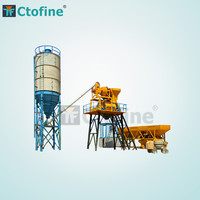 Auto Wet Cement Mixing Plant 50m3 Concrete Batching Plant Price
