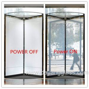 6mm Switchable smart glass /Remote control of glass