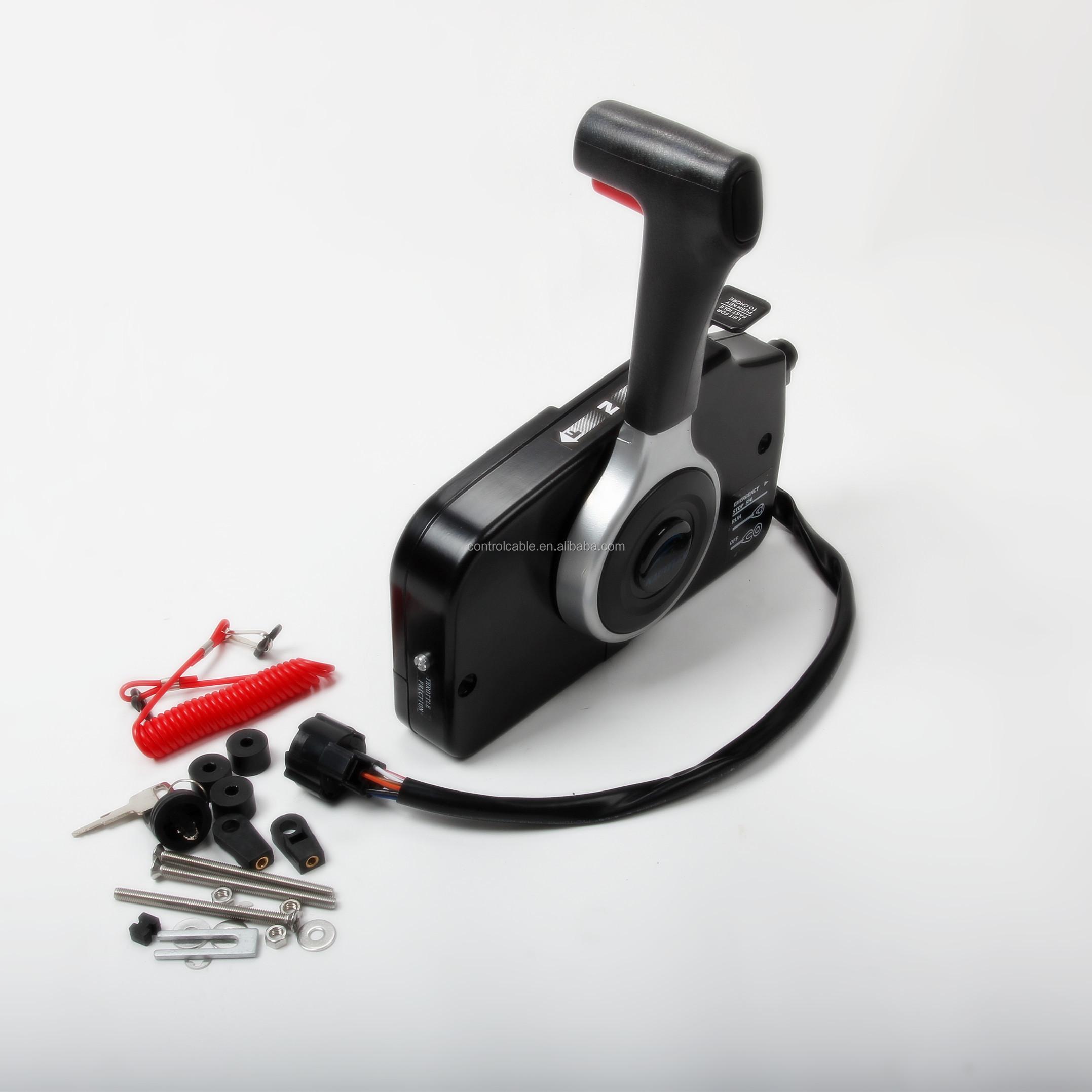Outboard Side Remote Control Box Throttle//Shift 67200-93J50 for Suzuki Motors