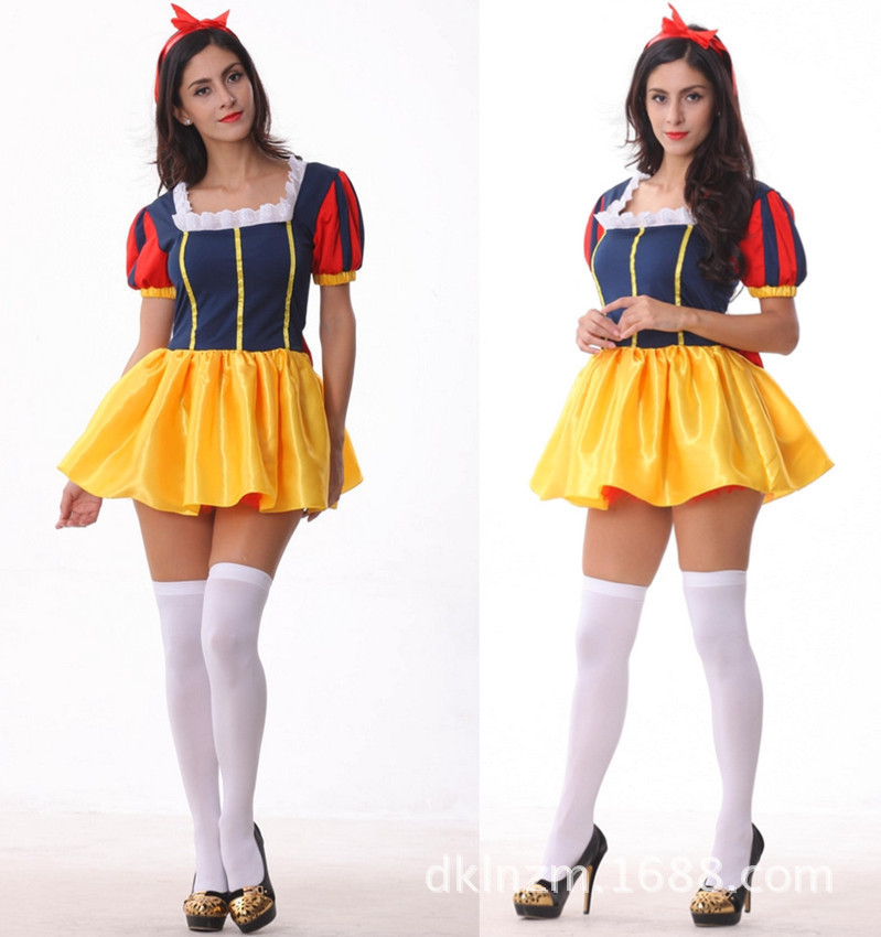 c4f5e0ddb02 Get Quotations · Free shipping hot sale movie costumes for women cosplay  Fairy tale Snow White princess costume adult