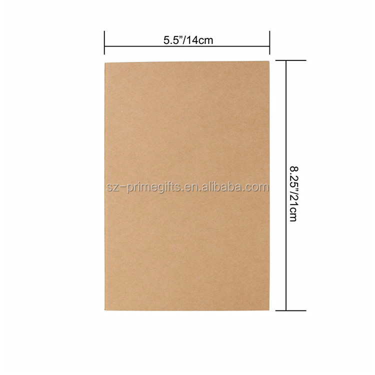 Factory Manufacture Cheap Custom A5 Paper Notebook With Custom Logo