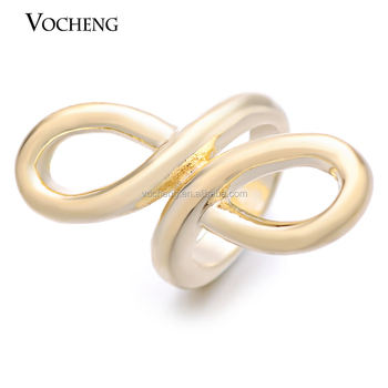 10pcs/lot Wholesale Vocheng 6mm Lambskin Bracelet Accessories Real Gold Plating Brass Material Charm VC-084*10 Free Shipping