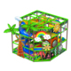 kids jungle gym green theme small daycare indoor playground for sale