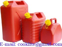 Plastic Diesel Fuel Can
