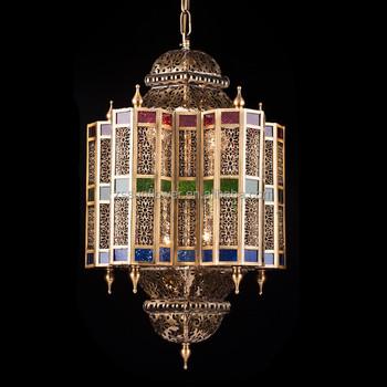 mosque chandelier moroccan lighting indoor decoration hanging lamp
