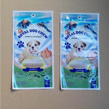 seal food pet pouch/plastic dog food bag/animal feed bags