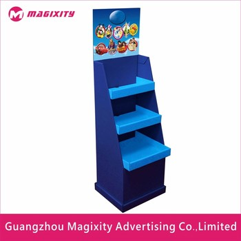 Customizable Cardboard Shoe Store Display Rack,Promotion Shoe Stand Rack