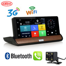 3G Net GPS Navigation offline map 7 inch with Wifi and Bluetooth , 1080P HD Car DVR and Rear View Camera