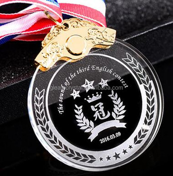 K9 Crystal Medal Cheap Wholesale Customized Crystal Glass Medals For  Business Gift - Buy Custom Medal Maker,Custom Medals No Minimum Order,Award