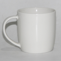 380ML Coffee Cup Porcelain Ceramic Mug With Giant Logo And Handle