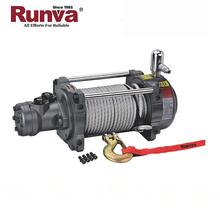 Popular 15000Lbs Hydraulic Cable Pulling Winch