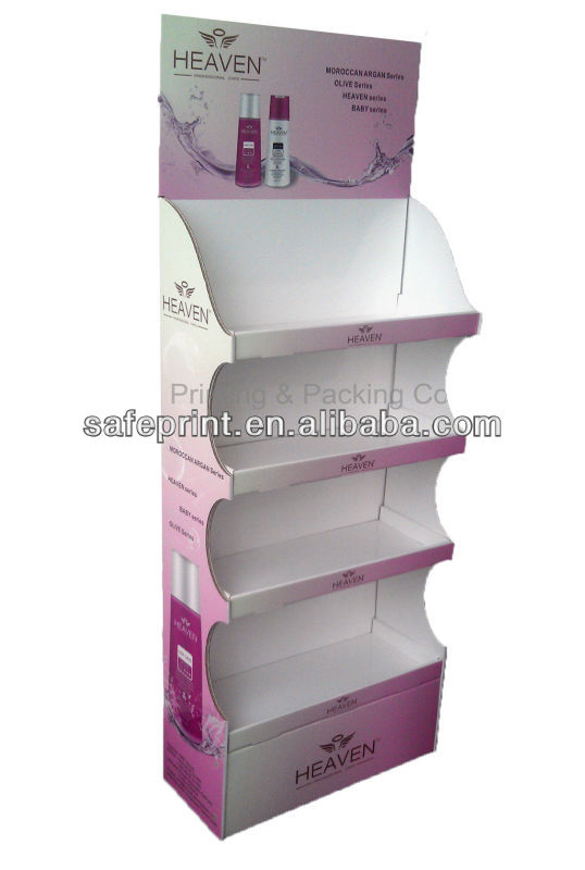 customized convinient supermarket and store candle display stand