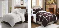 micro mink and sherpa comforter bedding set sherpa quilts