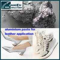 quality assured bright metallic effect strong hiding power sparkling aluminium paste ZQ-14812