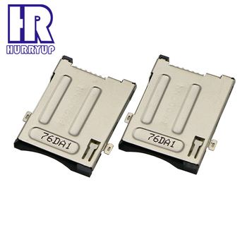 Cheap 6 pin sim card connector for Computer box sim card connector