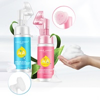 150ml 5oz Fl Amino Acid Foaming Face Wash Private Label Facial Cleanser For Men Women