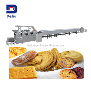 2018 New product Automatic small biscuit making machine/biscuit making production line/cookie maker snack machines