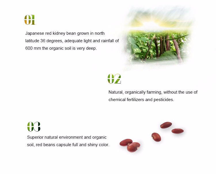 Vigna type fresh kidney beans