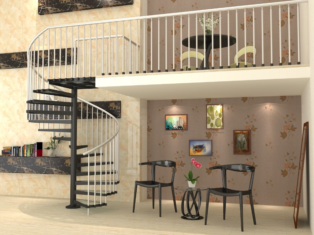 Prefabricated Portable Aluminum Spiral Stairs Buy