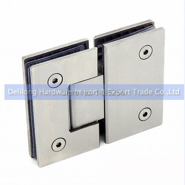 Stainless steel bathroom toilet glass clip frameless glass