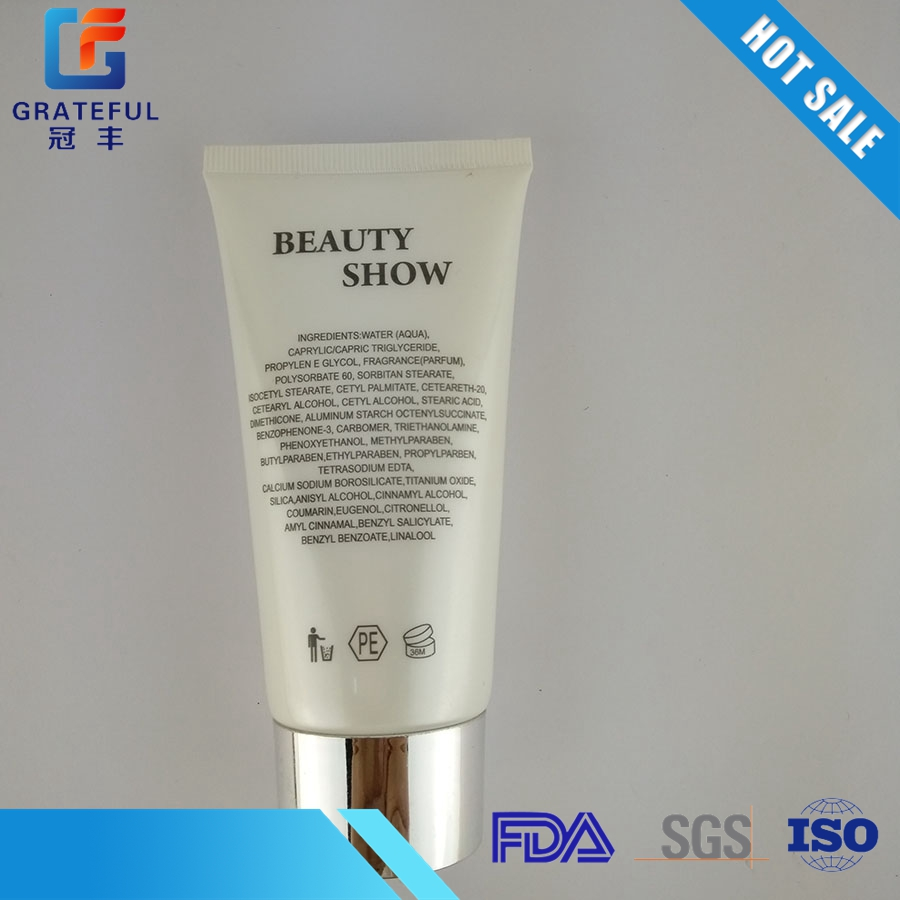 Five layer plastic cosmetic tube for cosmetics cream 40mm hot tube 2012