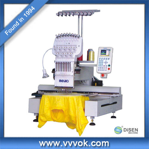 Single head high precision chainstitch embroidery machine